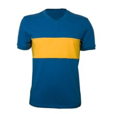 Boca Juniors football shirt 1960's