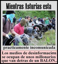 #Asturias -eko borroka eta hedabideen jarrera.