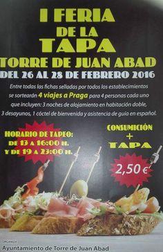 1ª Ruta de la Tapa - Torre de Juan Abad