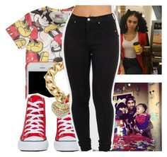 """At my nephews party"" by destinylove66 ❤ liked on Polyvore featuring MC2, Tory Burch, Converse and Juicy Couture"