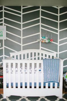 Modern boy's nursery | Erin J Saldana | 100 Layer Cakelet. #laylagrayce #nursery