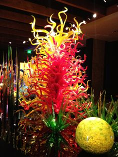 Dale Chihuly hand blown glass museum in Ft. Myers, FL
