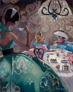 Trish Biddle © 2010 Tea Party