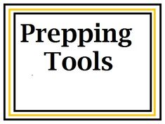 Amazing list of prepping tools from a blog that really is prepping.  Homestead Survival