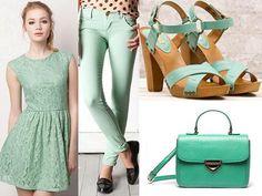 Color VERDE MENTA en prendas y accesorios / Tendencias  2012 ...