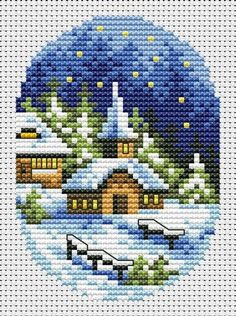 Christmas Village Cards 2 Cross Stitch Pattern Christmas Card Set Cross Stitch Chart PDF I. Cross Stitch Christmas Cards, Cross Stitch Cards, Simple Cross Stitch, Cross Stitch Borders, Cross Stitch Alphabet, Christmas Cross, Cross Stitch Designs, Cross Stitching, Cross Stitch Embroidery