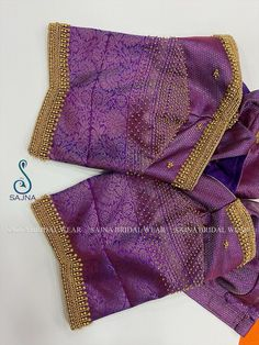 Patch Work Blouse Designs, Hand Work Blouse Design, Simple Blouse Designs, Sari Blouse Designs, Stylish Blouse Design, Bridal Blouse Designs, Embroidery Works, Zardosi Embroidery, Embroidery Designs