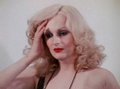 """""""Young James [aka Candy Darling] shared in his mother's obsession with Hollywood, and all he talked about were films from the Forties. He memorized certain scenes and would emulate the star's every move and gesture... His mind became warped with fantasy; he was lost in his own real-life melodrama starring his own creation, Hope Dahl, then Candy Dahl, and finally Candy Cane - that is, until she met up with Taffy Tits Terrifik, a fat hormone queen... Taffy Tits used to drag Candy all over the…"""