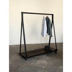 A-Framed clothing rack by Strawser & Smith, Inc.