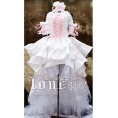 Chii Lolita Cosplay Costume Deluxe ❤ liked on Polyvore featuring costumes, cosplay costumes, deluxe halloween costumes, role play costumes, cosplay halloween costumes and deluxe costumes