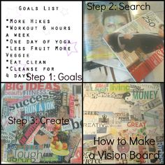 how to make a VISION board to get YOUR DREAM body
