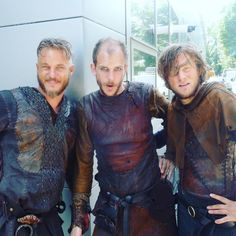 "2,179 Beğenme, 10 Yorum - Instagram'da Hvitserk (@hvitserkgram): ""Celebrating loyal friends with this #waybackwednesday pic of #Ragnar, #Floki, and #Arne. • Stolen…"""