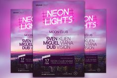 Neon City Club Flyer and Poster Templates The **Neon City Club Flyer and Poster Template** was designed to promote your next DJ party and club by Flyermind Flyer Size, Christmas Flyer, Club Flyers, Marketing Flyers, Text Tool, Site Website, Flyer Layout, Newsletter Design, Restaurant Branding