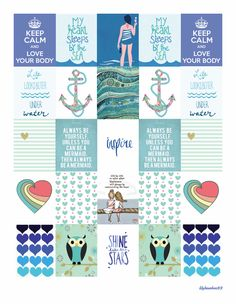Planner Stickers vLily LYB Series