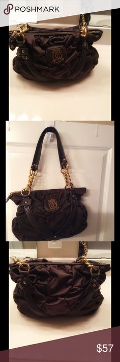 Very cute brown handbag In great condition brown handbag. No stains or tears Juicy Couture Bags