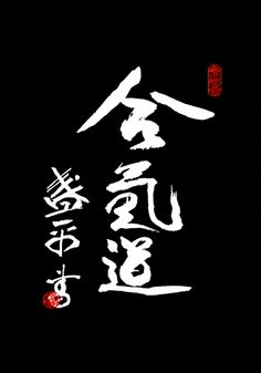 To my opinion, the best Aikido Kanji script! P.F.