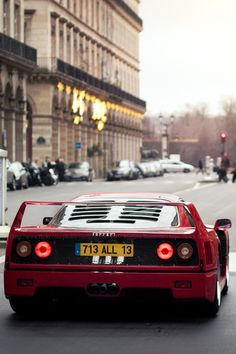 Ferrari F40 looking great