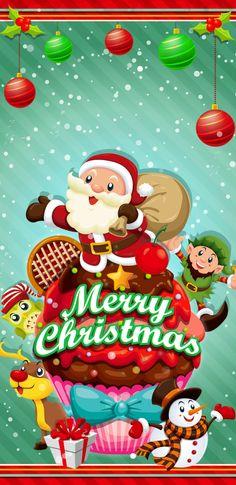 Merry Christmas Wallpaper, Xmas Wallpaper, Winter Wallpaper, Heart Wallpaper, Iphone Wallpaper, Christmas Messages, Christmas Art, Christmas Photos, Christmas And New Year