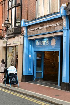 Murphys Ice Cream Shops - Killarney- Saturday- after lunch