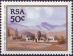Stamp: Painting (South Africa) (Jacob Hendrik (1886-1957)) Mi:ZA 782,Yt:ZA 699,Sg:ZA 692