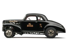 """"""" The Boss' 39 Studebaker featured in Hot Rod in 1967."""