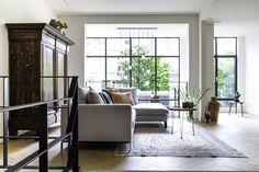 Portfolio - Studio Binnen Modern Couch, Modern Dining Table, Diy Table, Scandinavian Style, Home Living Room, Facade, Modern Design, Loft, Furniture