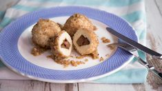 Diese Nougatknödel im Quarkmantel sind echtes Soulfood! Super easy gemacht, schmecken sie toll als Hauptspeise oder Dessert. Absolute Nachmach-Empfehlung!