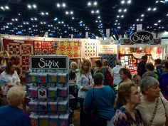 SIzzix Events | International Quilt Festival 2014
