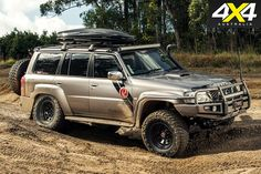 This Nissan Patrol has been equipped with an arsenal of weapons-grade modifications, including a military-spec diesel engine. Nissan 4x4, Nissan Trucks, Best 4x4 Cars, Nissan Patrol Y61, Patrol Gr, Nissan Infiniti, Car Repair Service, Suv Cars, Cars