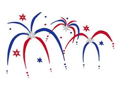 Fire Work   Fourth of July   machine embroidery fill by artapli, $2.89