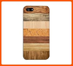 7 Shades of Striped Wood Design Case for iPhone 6 6 Plus iPhone 5 5s 5c iPhone 4 4s Samsung Galaxy s6 s5 s4 & s3 and Note 4 3 2 - Made of wood (*Amazon Partner-Link)