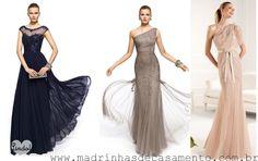 Vestido madrinha de casamento dia!  Casamento, Bridesmaid dresses and ...