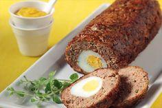 Fay's Homemade Recipes: Greek Meatloaf stuffed with Eggs (Rolo Kima) Meatloaf Recipes, Meat Recipes, Wine Recipes, Cooking Recipes, Cookbook Recipes, Greek Meze, Cypriot Food, Greek Cooking, Greek Dishes