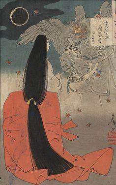 Ukiyo-e Spirit and Woman | Flickr - Photo Sharing!