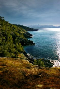 Beautiful Coastline near Silver Spray, Sooke, BC