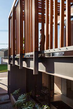 Casa RL - COA  #casa #house #brick #steel #tijolo #arquitetura #brasil #construcao #wood #madeira #detalhe #detail
