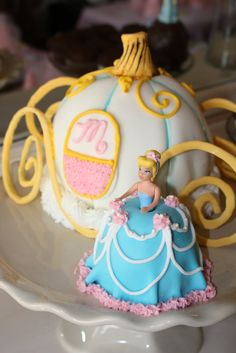 Cinderella doll cupcakes - Google Search