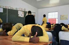 """""""HEADS UP, SEVEN UP!"""" We always played this in Sunday school"""