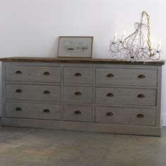 large bedroom dresser, light wood chest of drawers, Restoration ...