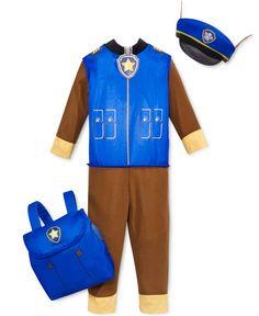 Paw Patrol Toddler Boys' Chase Costume Set