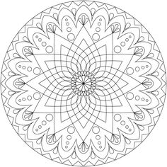 Free Printable Mandala Coloring Pages | ... tags under this post for lots more coloring pages and mandala designs