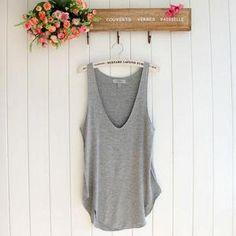 Fashion Summer Woman Lady Sleeveless V Neck Candy Vest Loose Tank Tops T Shirt   eBay