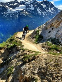 Livigno, Italy - I would mountain bike there!