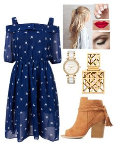 """""""Untitled #565"""" by kmmurphy ❤ liked on Polyvore featuring Qupid, Michael Kors and Tory Burch"""
