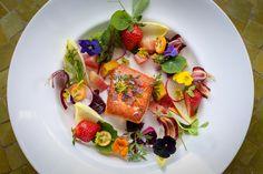 Barndiva wild salmon summer salad