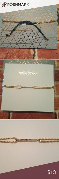 Selling this Stella and dot blue-green bracelet on Poshmark! My username is: jessica24lee. #shopmycloset #poshmark #fashion #shopping #style #forsale #Stella & Dot #Jewelry