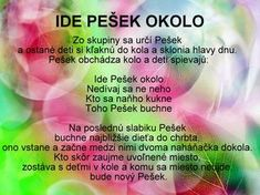 Detské hry - Modrý koník Special Education, Kids And Parenting, Activities For Kids, Preschool, Album, Children, Blog, Decorations, Speech Language Therapy