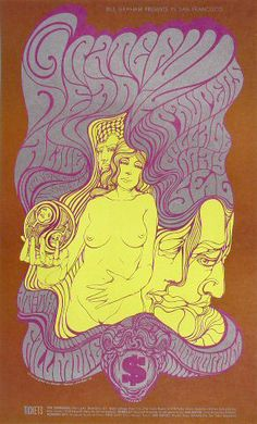 Grateful Dead ......  Paupers .... Collage ..... May .. 1967 ... Fillmore ...  artist ..... WES WILSON
