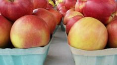Apples Farmers Market, Apples, Artisan, Peach, Fruit, Food, Essen, Craftsman, Peaches