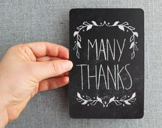 16 Best Postcards Thank You Images On Pinterest Thank You